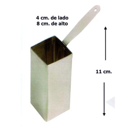 Motlle d'emplatat quadrat alt
