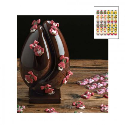 Assortit de figures de Pasqua H40 - 4 colors, Pavoni