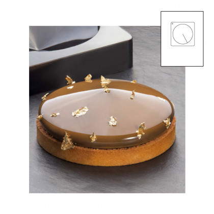 Frisbee TOP motlle silicona 300x175 - Ø 160xh 37 mm, Pavoni
