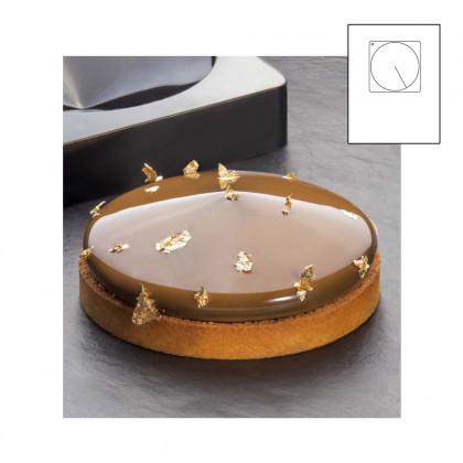 Frisbee TOP motlle silicona 300x175 - Ø 180xh 40 mm, Pavoni