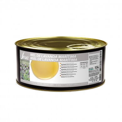 Mel de lavanda marítima (1,5kg), Sosa