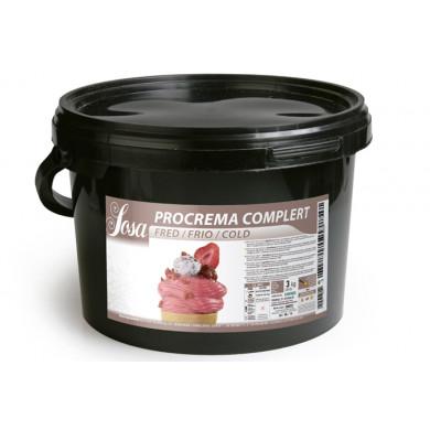 Procrema complet fred (2,8 kg), Sosa