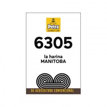 Harina Petra 6305 Manitoba (25kg), Molino Quaglia