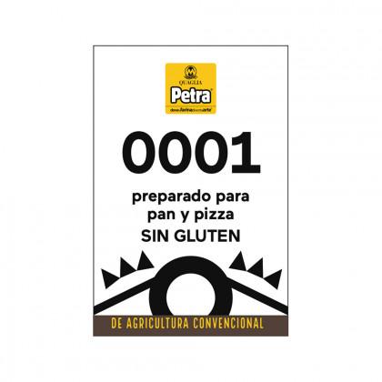 Preparado sin gluten 0001 para pan y pizza (3kg), Molino Quaglia
