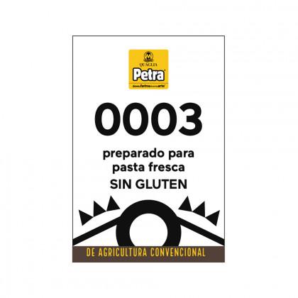 Preparado sin gluten 0003 para pasta fresca (3kg), Molino Quaglia