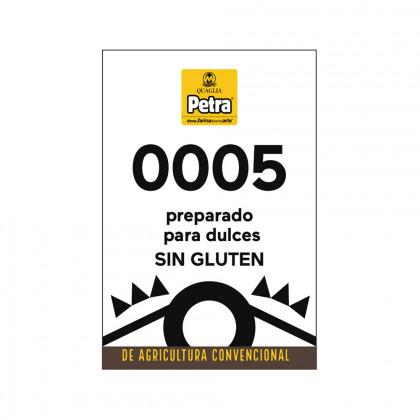 Preparado sin gluten 0005 para dulces (3kg), Molino Quaglia