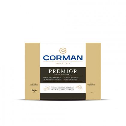 Margarina Premior en placa (2kg), Corman