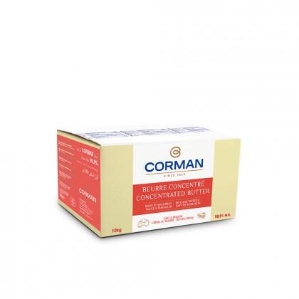 Crema de Mantequilla Concentrada Extra 99,9% MG en bloque (10kg), Corman