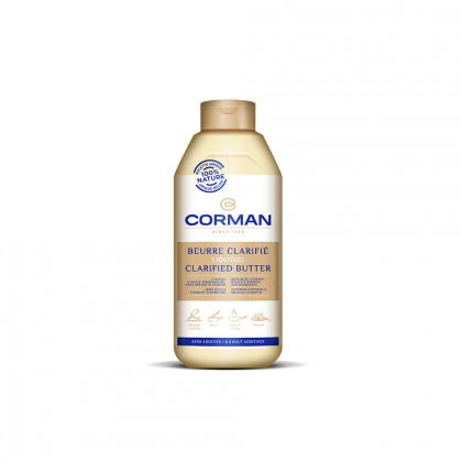 Mantequilla Líquida Clarificada 99,9% MG (900ml), Corman