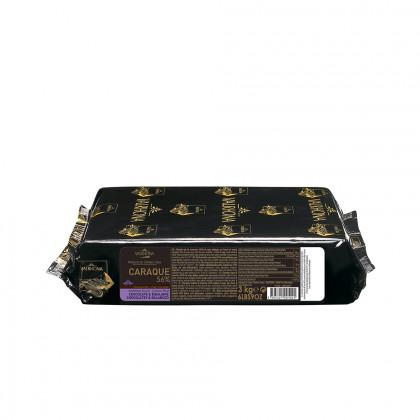 Cobertura negra Caraque 56% (1kg), Valrhona - 3 unidades