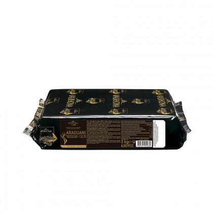 Pasta pura de cacao Araguani 100% (1kg), Valrhona - 3 unidades