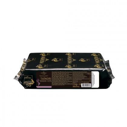 Pasta pura de cacao Taïnori 100% (1kg), Valrhona - 3 unidades