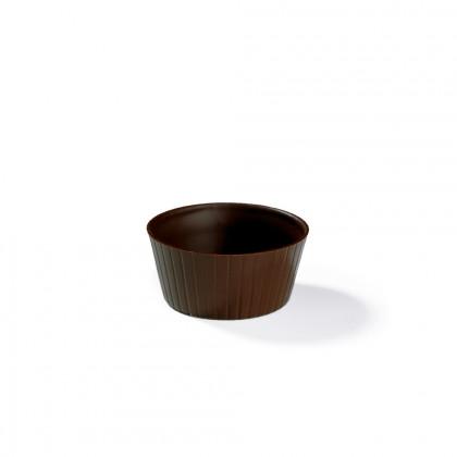 Decoración Copa soufle (Ø65/Ø50x30mm), Dobla - 84 unidades