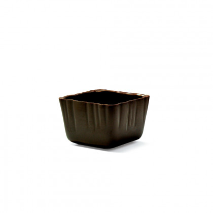 Decoración Carré cup negro (47x47x32mm), Dobla - 66 unidades