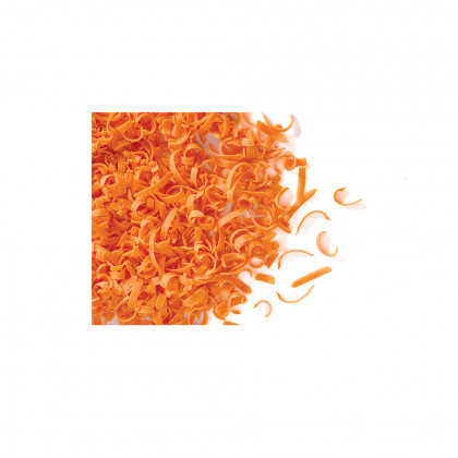Decoración Spaghetti naranja (2,5kg), Dobla
