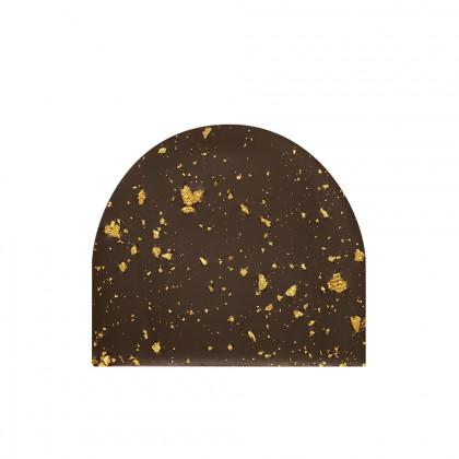 Placa Parsemage dorado (85x70mm), Chocolatree - 60 unidades