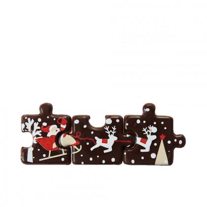 Puzzle Navidad (21x27mm), Chocolatree - 198 unidades