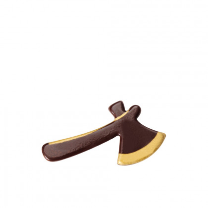 Hacha dorada (50x27mm), Chocolatree - 132 unidades