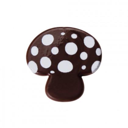 Champiñón blanco pequeño (20x20mm), Chocolatree - 330 unidades