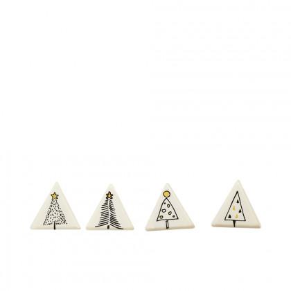 Triángulos de oro (21x21mm), Chocolatree - 224 unidades