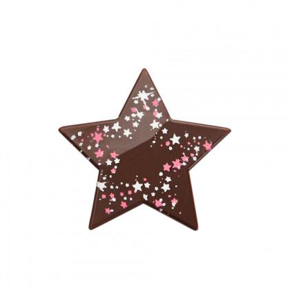 Estrella estrellada (40x27mm), Chocolatree - 160 unidades
