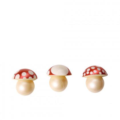 Champiñón volumétrico (Ø29mm), Chocolatree - 88 unidades