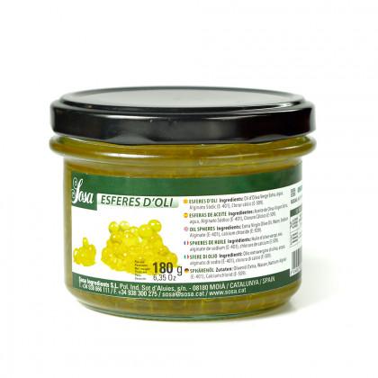 Esferas de aceite de oliva, Sosa