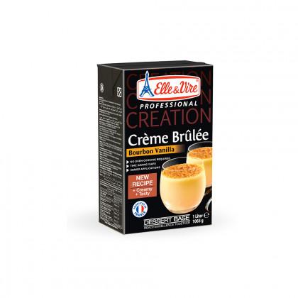 Creme brulée con vainilla Bourbon (1l), Elle & Vire Professionel