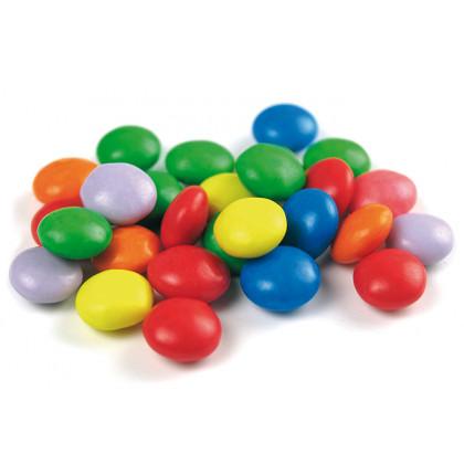Botones multicolores de chocolate con leche (1kg), Sosa