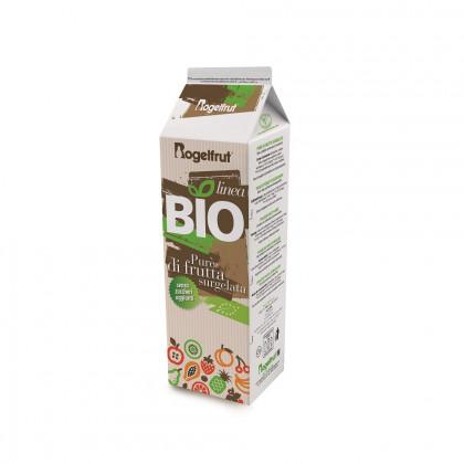 Pulpa de fresa Bio congelada (1kg), Rogelfrut