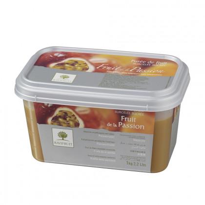 Pulpa de fruta de la pasión congelada (1kg), Ravifruit