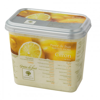 Grains de fruit de limón congelados (1kg), Ravifruit
