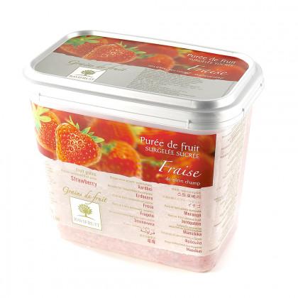 Grains de fruit de fresa congelados (1kg), Ravifruit