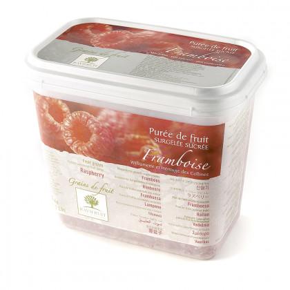 Grains de fruit de frambuesa congelados (1kg), Ravifruit