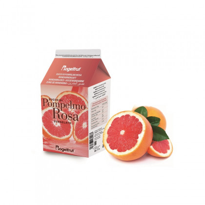 Zumo de pomelo rosa congelado (0,5l), Rogelfrut