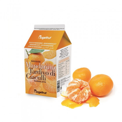 Zumo de mandarina tardía de Ciaculli congelado (0,5l), Rogelfrut