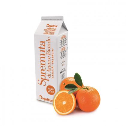 Zumo de naranja congelado (1kg), Rogelfrut