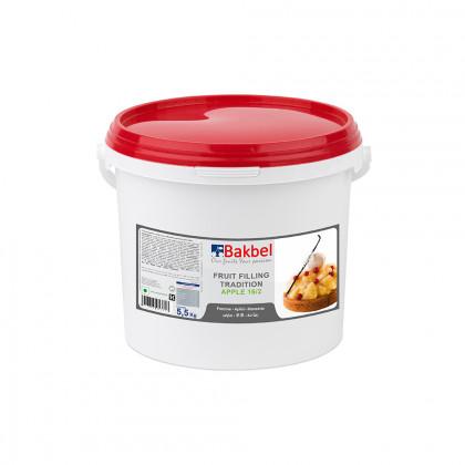 Crema de relleno tradicional de manzana trozos 16/2 (5,5kg), Bakbel