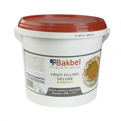 Fruit Filling Deluxe de albaricoque (6kg), Bakbel