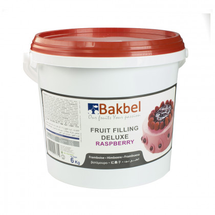 Fruit Filling Deluxe de frambuesa (6kg), Bakbel