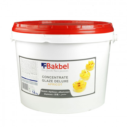 Concentrate Glaze Deluxe albaricoque 10% (14kg), Bakbel