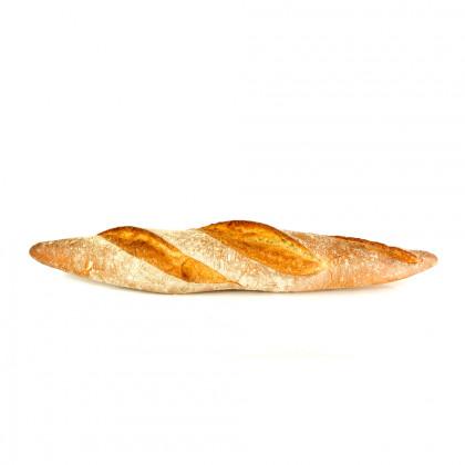 Barra de pan rústico precocida ECO (390g-15u), Fermentus
