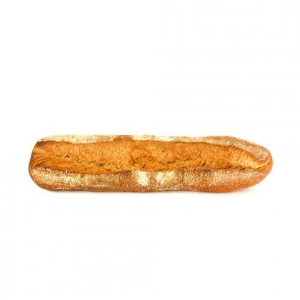 Barra de pan de espelta integral precocida ECO (390g-20u), Fermentus
