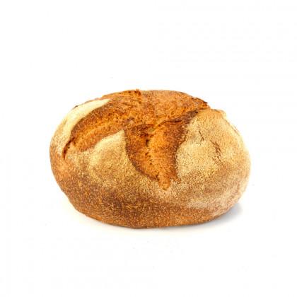 Pan de espelta integral redondo precocido ECO (400g-20u), Fermentus