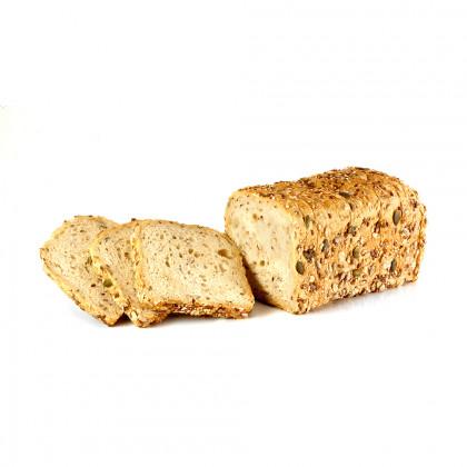 Pan de molde de cereales cocido ECO (600g-7u), Fermentus