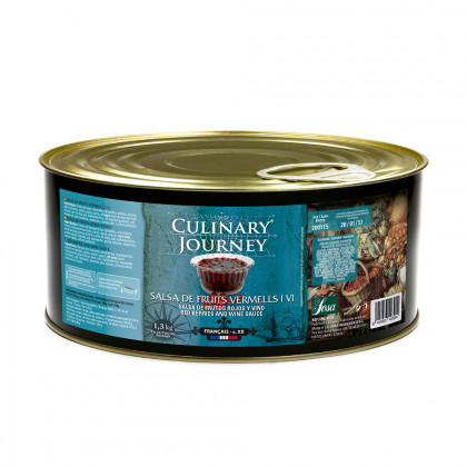 Red berries and wine sauce (1.3kg), Culinary Journey