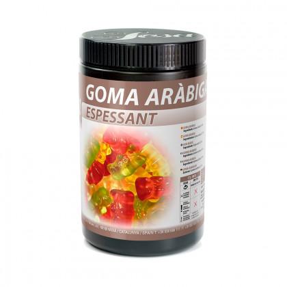 Arabic gum, Sosa