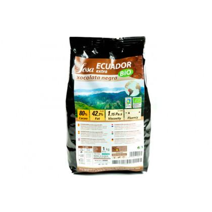 Ecuador extra 80% organic dark couverture, Sosa