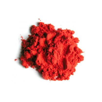 Matt orange water soluble colouring powder, Sosa