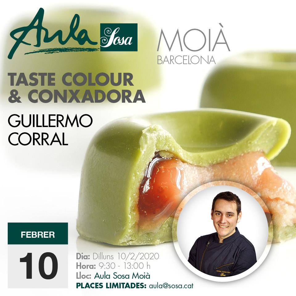 Taste colour i Conxadora